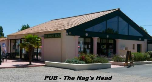 View of the Nag's Head pub from outside